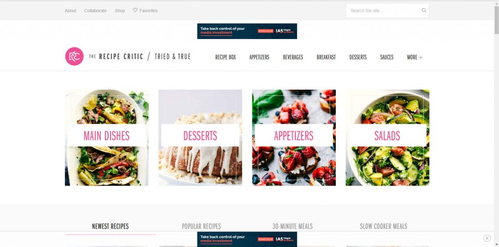 Food-Blog-Examples