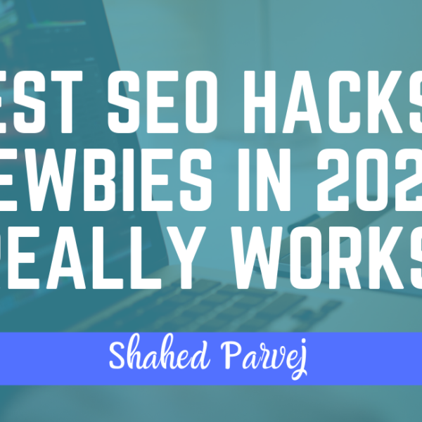 5 Best SEO Hacks For Newbies in 2020 [ Really Works ]
